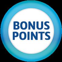 Resultado de imagen de bonus  points